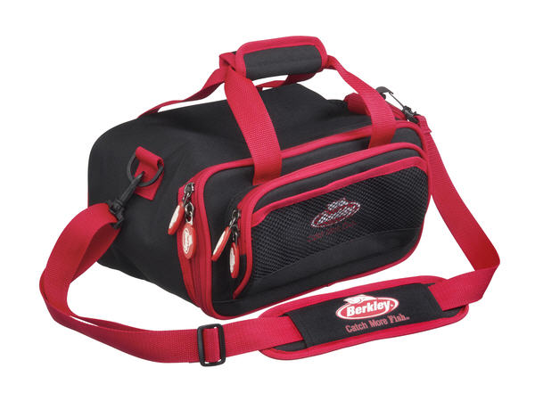Borsa Berkley PowerBait Bag M Nero/Rosso 35x21x19 cm