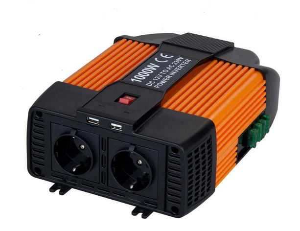 Inverter POWER da 11/15 V a 220/240 V 1000 Watt